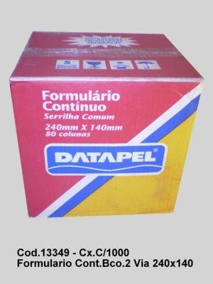 PDSHOP - PARANA DISTRIBUIDORA DE BRINQUEDOS LTDA - FORMULARIO CONTINUO BRANCO 2 VIA 240X280 CX.C/1000 DATAPEL