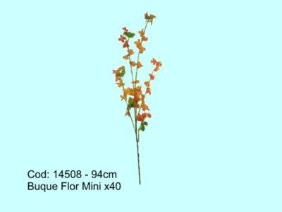 PDSHOP - PARANA DISTRIBUIDORA DE BRINQUEDOS LTDA - BUQUE FLOR MINI X40 94CM FLOR ARTE