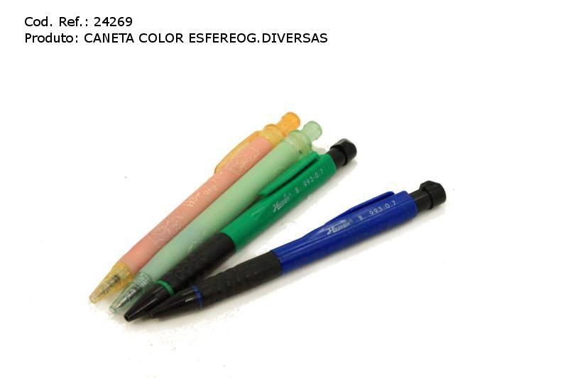 PDSHOP - PARANA DISTRIBUIDORA DE BRINQUEDOS LTDA - CANETA COLOR ESFEREOG.DIVERSAS PCT.C/4 CRISTAIS
