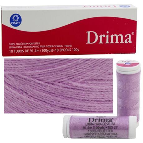 PDSHOP - PARANA DISTRIBUIDORA DE BRINQUEDOS LTDA - LINHA DE COSTURA DRIMA 91,4MT LILAS C/10 CORRENTE