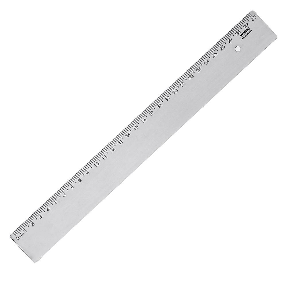 PDSHOP - PARANA DISTRIBUIDORA DE BRINQUEDOS LTDA - REGUA PLASTICA 30CM NEW LINE FUME C/10 WALEU