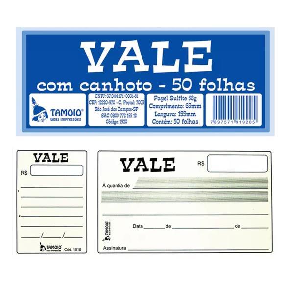 PDSHOP - PARANA DISTRIBUIDORA DE BRINQUEDOS LTDA - VALE C/CANHOTO 50FLS. PCT.C/20 BLCS. TAMOIO